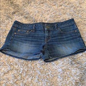 American Eagle stretch jean shorts size 8